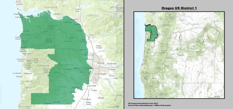 Oregon's 1st congressional district