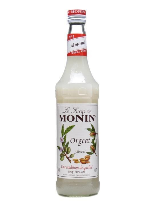 Orgeat syrup Monin Orgeat Almond Syrup The Whisky Exchange
