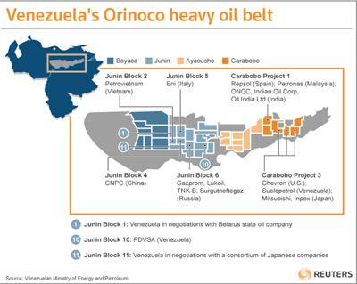 Orinoco Belt petroleumworld