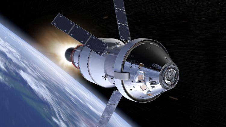 Orion (spacecraft) NASA39s Orion Spacecraft Stacks Up for First Flight NASA