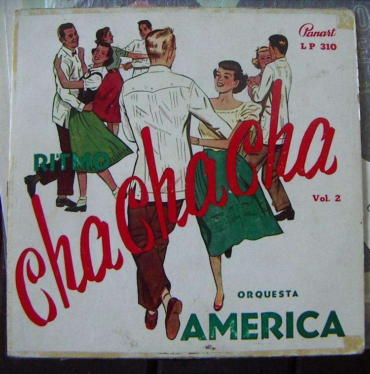 Orquesta América Afroantillana Orquesta America Cha Cha Cha Vol2 Lp 10 US