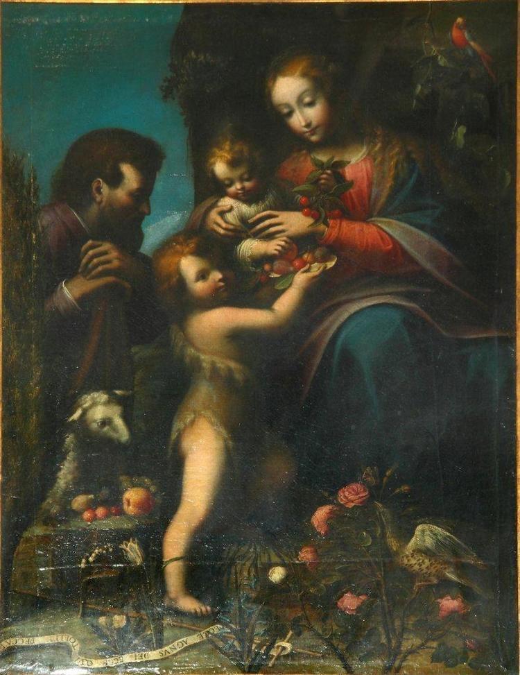 Orsola Maddalena Caccia Bellagio Vittorio Sgarbi presenta la pittrice Suor Orsola