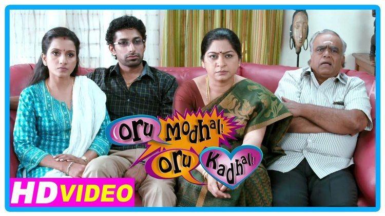 Oru Modhal Oru Kadhal Oru Modhal Oru Kadhal Movie Scenes Vivek reveals about his