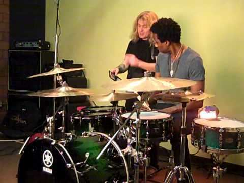 Oscar Seaton, Jr. Oscar Seaton Jr Modern Drummer Photo Shoot Part 3 YouTube