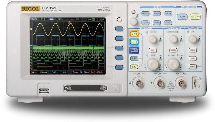 Oscilloscope DS1102D 100 MHz Mixed Signal Oscilloscope Rigol Beyond Measure
