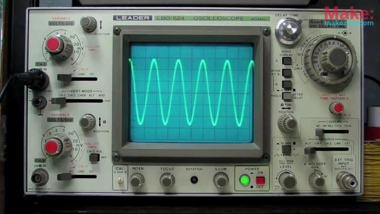Oscilloscope MAKE presents The Oscilloscope YouTube
