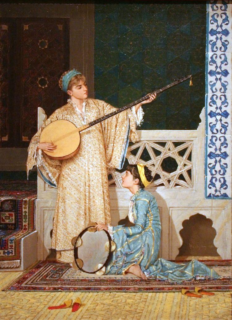 Osman Hamdi Bey FileOsman Hamdi Bey Two Musician Girlsjpg Wikimedia