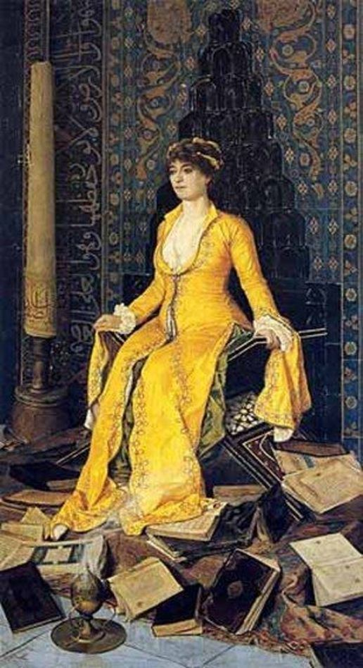 Osman Hamdi Bey Books and Art Mihrap 1901 Osman Hamdi Bey Turkish