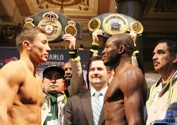 Osumanu Adama Photos Gennady Golovkin vs Osumanu Adama Boxing news