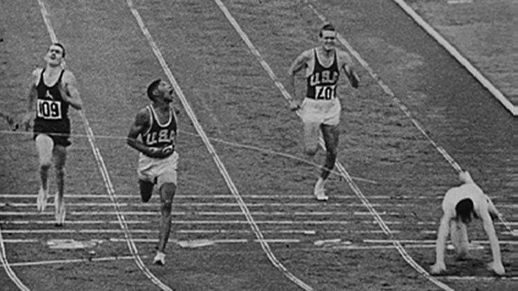 Otis Davis Otis Davis Carl Kaufmann Set Equal Olympic 400m Record Rome 1960