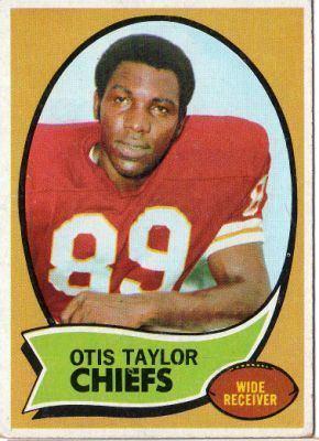 Otis Taylor (American football) KANSAS CITY CHIEFS Otis Taylor 103 TOPPS 1970 Orange