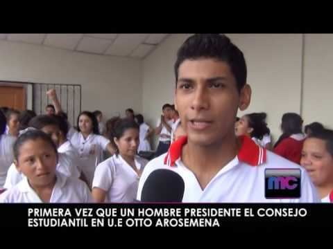 Otto Arosemena NUEVO PRESIDENTE ESTUDIANTIL UNIDAD EDUCATIVA OTTO AROSEMENA YouTube