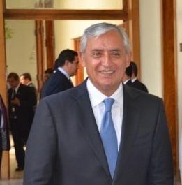 Otto Pérez Molina Otto Prez Molina Guatemalan PresidentElect with Blood on his