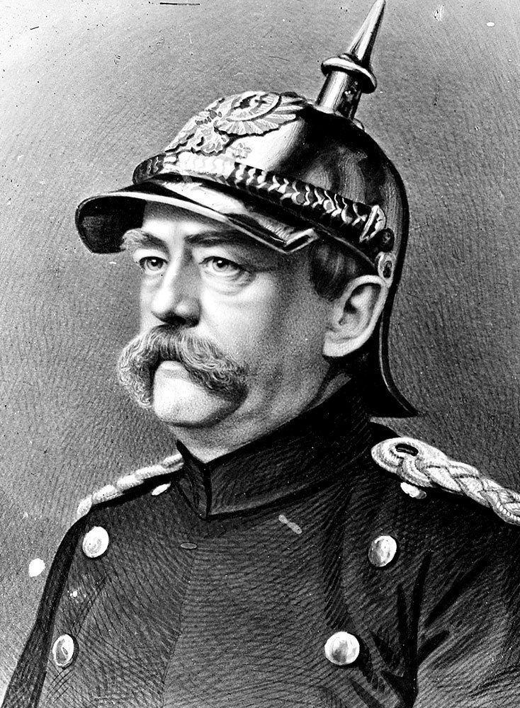 Otto von Bismarck Why did Otto Von Bismarck often wear a military uniform
