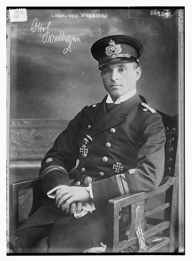 Otto Weddigen Lieut von Weddigen ie Otto Weddigen LOC Flickr