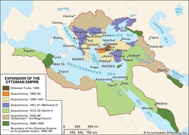 Ottoman Empire Ottoman Empire Facts History amp Map Britannicacom