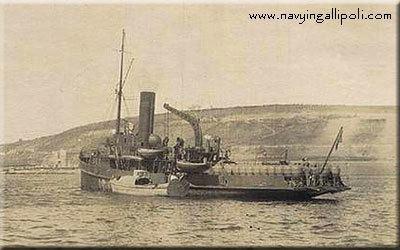 Ottoman minelayer Nusret NOnD 1915 Other Ottoman Vessels