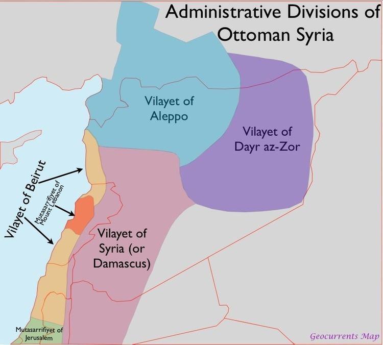 Ottoman Syria WHKMLA History of Ottoman Syria