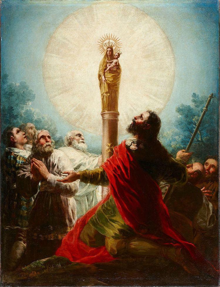 Our Lady of the Pillar Our Lady of the Pillar Virgo Clemens