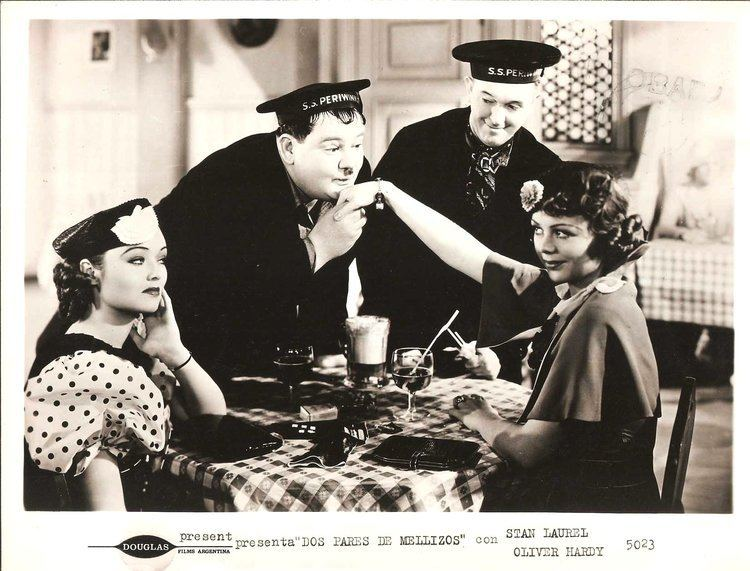 Our Relations STAN LAUREL OLIVER HARDY in Our Relations Original Vintage Photo