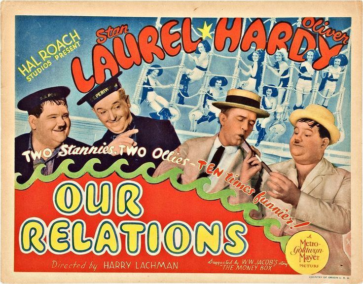 Our Relations Laurel And Hardy Our Relations 1936 The Happy Video Network