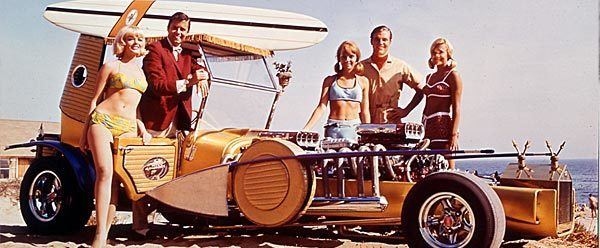 Out of Sight (1966 film) The Famous ZZR And Customs The Out of Sight 1966 Movie Car The ZZR