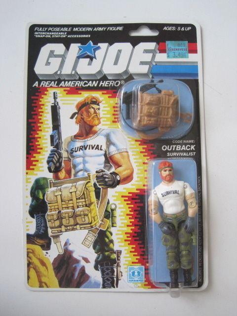 Outback (G.I. Joe) GI Joe 1987 Outback MOC