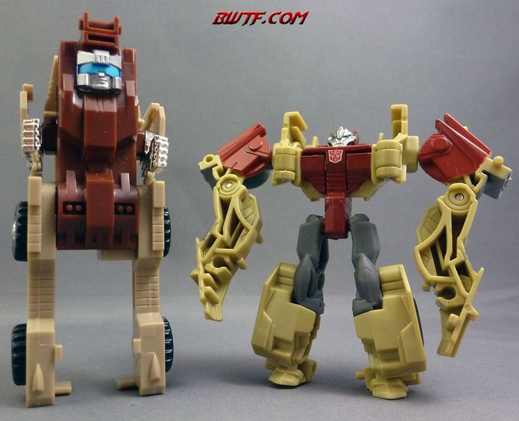 Outback (Transformers) Transformers Prime Cyberverse Fallback Toy Review BWTF