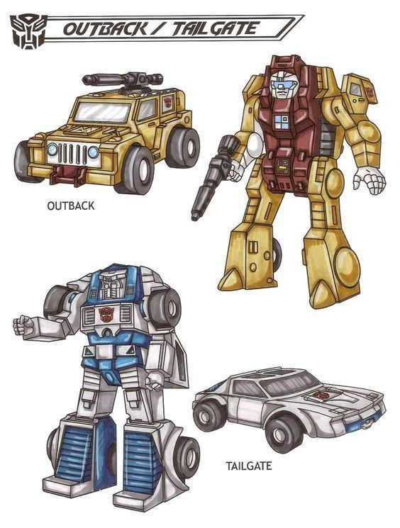 Outback (Transformers) Outback and Tailgate G1 Transformers Pinterest The long Cars