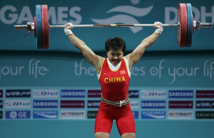 Ouyang Xiaofang Chinas silver winner Ouyang Xiaofang co CBS St Louis