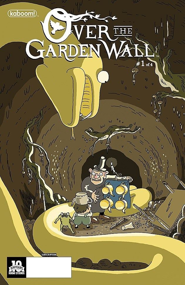 Over the Garden Wall (1934 film) Exclusive Boom Studios Takes Us Back Over the Garden Wall