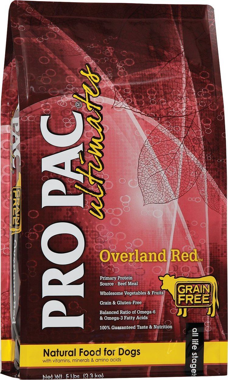 Overland Red Pro Pac Ultimates Overland Red Beef Potato GrainFree Dry Dog Food