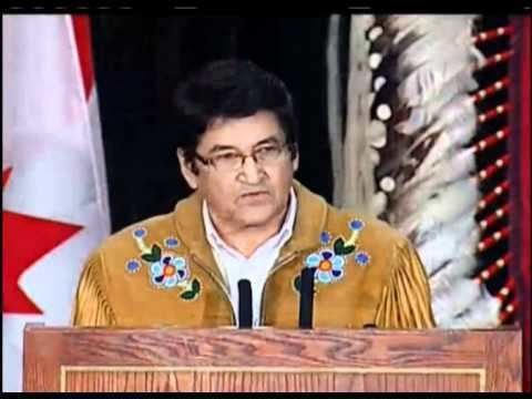 Ovide Mercredi Decolonization The Crown and AFN Gathering 2012 Ovide
