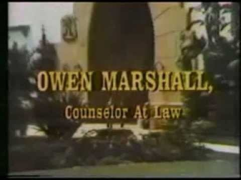 Owen Marshall: Counselor at Law Owen Marshall Counselor At Law theme YouTube