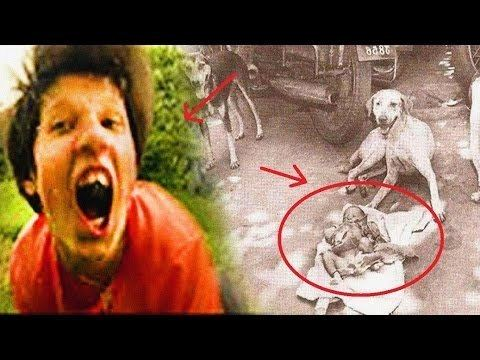 Dogs raised ukranian girl by Feral child