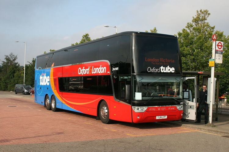 Oxford to London coach route