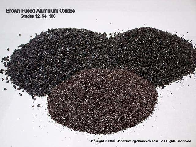 Oxide Aluminum Oxide Sandblasting Abrasives