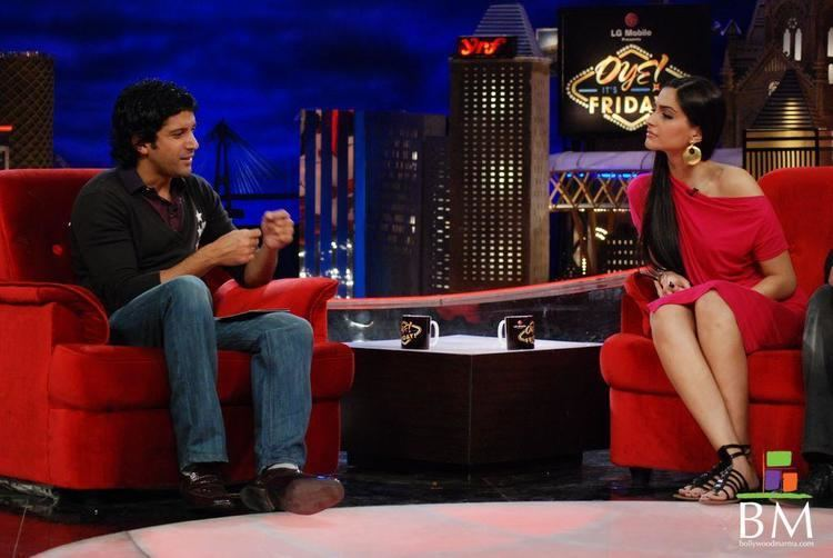 Oye! It's Friday! Sonam Kapoor Farhan Akhtar Delhi 6 Team at Oye its Friday Show