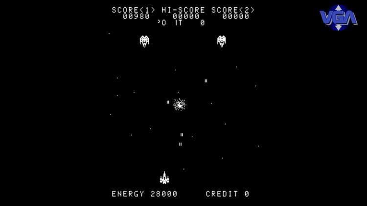 Ozma Wars VGA Ozma wars gameplay arcade video game anthology 1980mp4 YouTube
