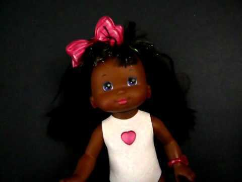 P. J. Sparkles vintage 80s toy PJ Sparkles light up doll African American