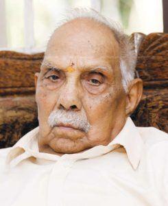 P. Parameswaran Kochi to Host Navati Celebrations of Hindutva icon P Parameswaran