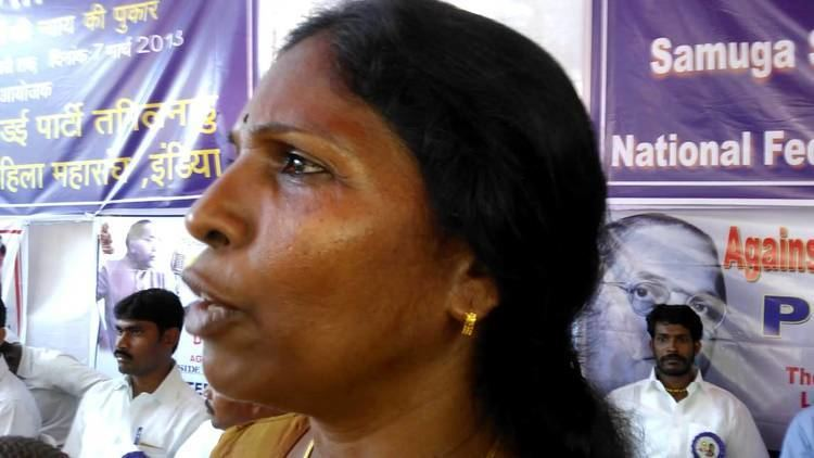 P. Sivakami P Sivakami at Protest for Justice for Victims of Caste Atrocities