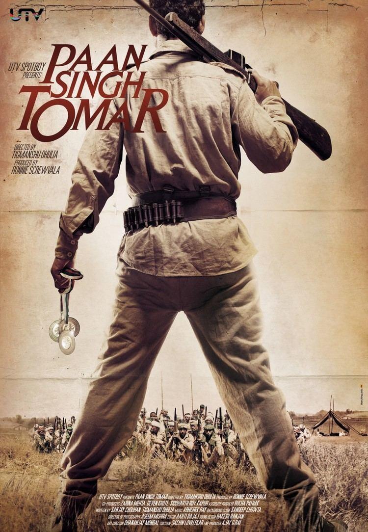 Paan Singh Tomar (film) Paan Singh Tomar 1 of 3 Extra Large Movie Poster Image IMP Awards