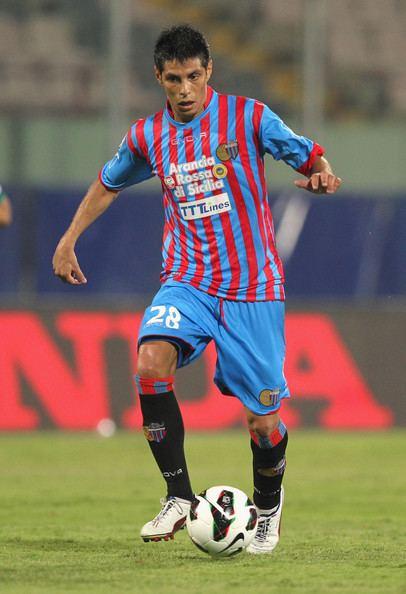 Pablo Barrientos Pablo Barrientos Pictures Catania Calcio v US Sassuolo