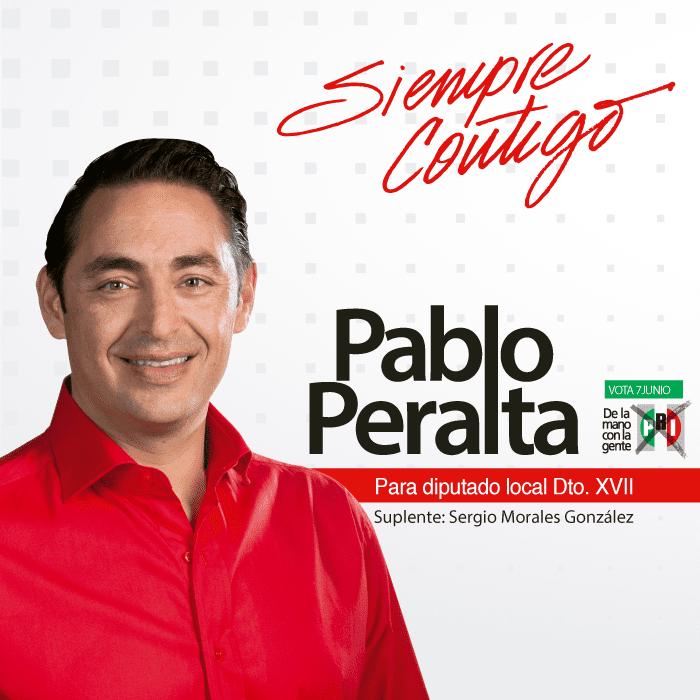 Pablo Peralta Pablo Peralta on Twitter para Diputado Local Dtto XVII