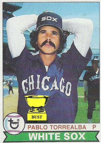 Pablo Torrealba Baseball Card Bust Pablo Torrealba 1979 Topps
