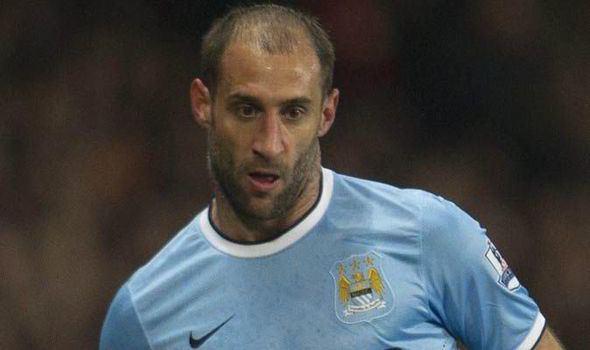 Pablo Zabaleta Pablo Zabaleta Manchester City can handle title pressure
