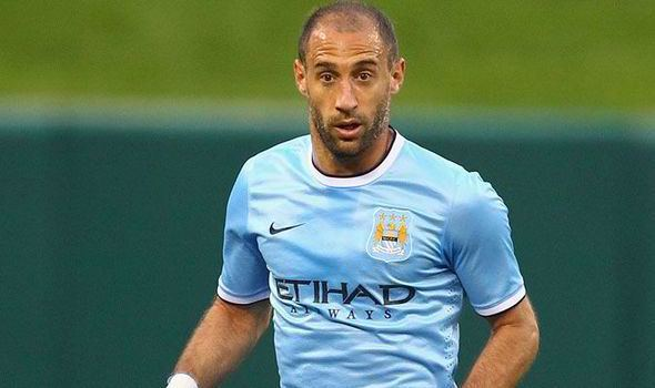 Pablo Zabaleta Manchester City39s Pablo Zabaleta open to Serie A move