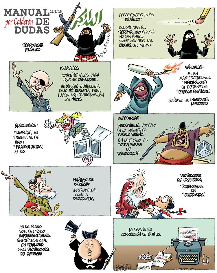 Paco Calderón La ideologa de Paco Caldern Horizontal