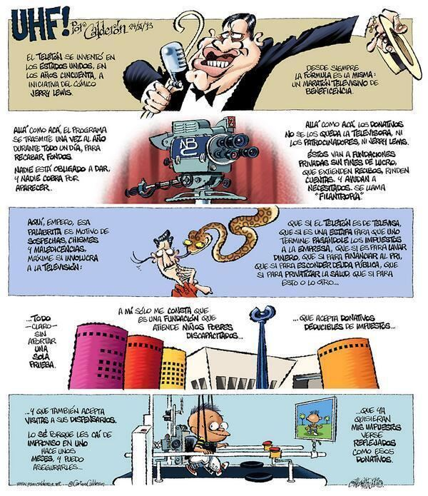 Paco Calderón Teletn Mxico on Twitter quotEl caricaturista Paco Caldern